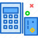 cancelice, desk, math, off, stop, workspacecalculator icon