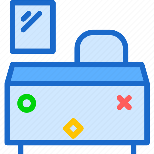 cancelice, desk, math, off, stop, workspace icon