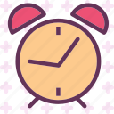 alarm, clock, old, sleep, watch icon