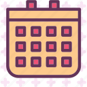calendar, day, program, schedule, year icon