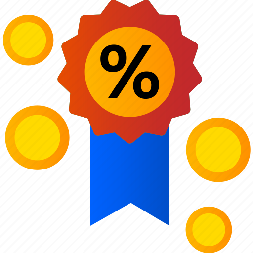 advertise, coin, marketing, medal, money, shopping icon
