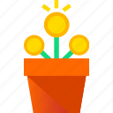 advertise, coin, growth, marketing, money, shopping icon