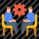 avatar, co, creation, meeting icon