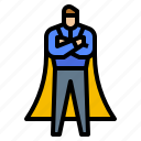 avatar, boss, dominance, man icon
