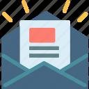 envelope, mail, message, news, newsletter