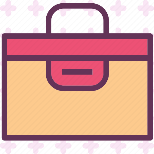 business, safebox, suitcase, valor icon