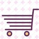 buy, purchase, shopingcart, striped icon