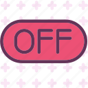 cancel, off, stop icon