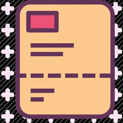 document, filereport, letter, paper icon