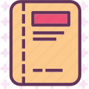 document, file, folder, letter, paper, report icon