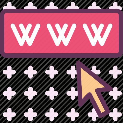 internet, web, wide, world, www icon