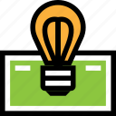 dollar, idea, money icon