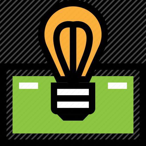dollar, idea, money icon