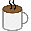 coffe, drink, idea, marketing, mug icon