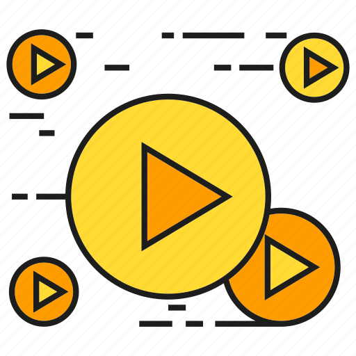 content, marketing, media, play, video icon