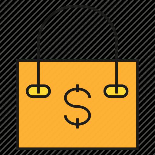 buy, money, promotion, sale, shopping, shopping bag icon