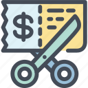 coupon, discount, money, sale icon
