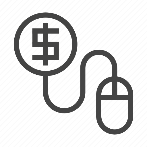 analytics, business, clickbait, currency, finance, graph, marketing icon