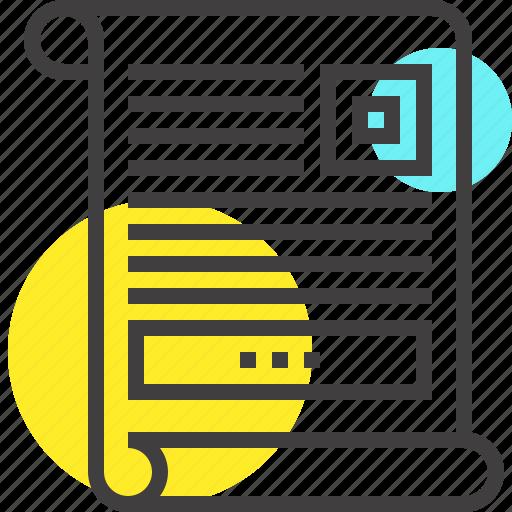 advertising, document, marketing, paper, promo, promotion, sheet icon