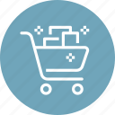 basket, buy, cart, commerce, gift, present, shopping icon