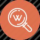 key, keyword, search, seo, text, web, word