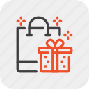 box, christmas, event, gift, holiday, present, shopping icon