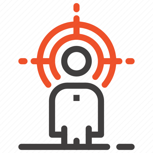 customer, human, people, person, recruitment, target, user icon