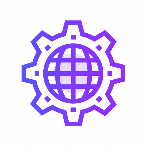 business, global, marketing, seo, solution icon