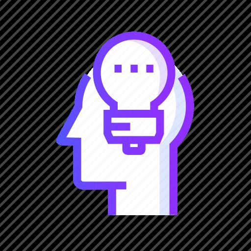 creativity, developing, idea, innovation, lamp icon