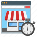 online shop, online shopping, optimization, web marketing, web marketing optimization icon
