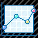 analysis, analytics, graph, marketing, up icon