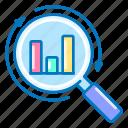analysis, analytics, magnifier, marketing