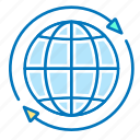 arrows, global, globe, marketing