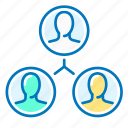 group, marketing, people, social, team icon