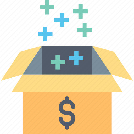 Box, business, finance, income, marketing, money, profit icon - Download on Iconfinder