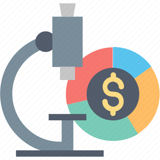 Market, research, business, data, financial, marketing, microscope icon - Download on Iconfinder