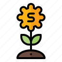 business, coin, finance, growth, marketing, money, plant