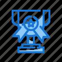 award, champion, marketing icon, medal, star, winner