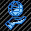 globe, grid, growth icon, marketing icon, strategy icon