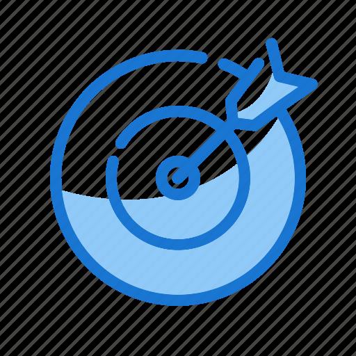 arrow, goal, marketing icon, strategy, target icon