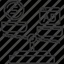 buy, comparison, finance, market, scale, scales, value icon