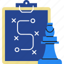 business, chess, investment, marketing, strategy icon