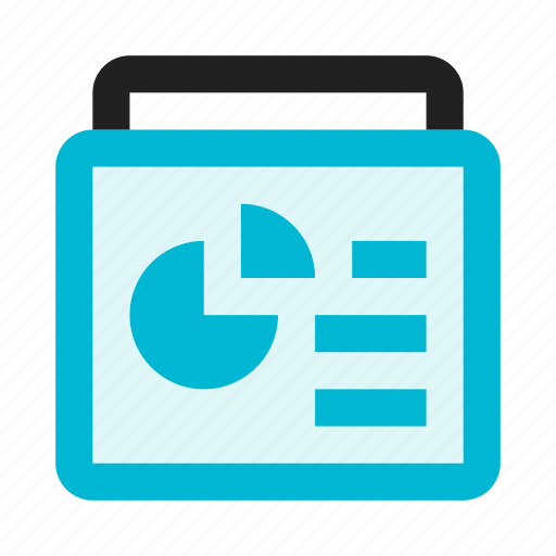 chart, diagram, document, file, graph, text icon