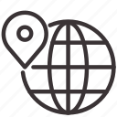 direction, international, location, marketing, pin, seo