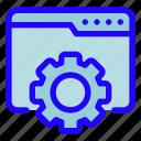 website, maintenance, settings, webpage, browser