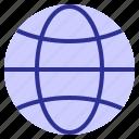 earth, marketing, networking, promote, world, worldwide icon