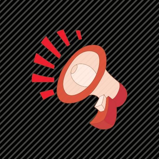 audio, cartoon, communication, mouthpiece, speaker, voice icon