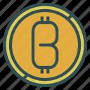 bitcoin, coin, digital, money icon