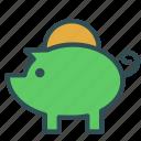 bank, coin, money, piggy icon