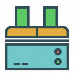 equipment, machine, office, print, scan icon